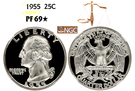 1955 WASHINGTON NGC...