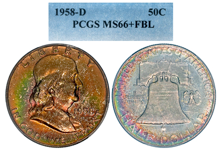 1958-D FRANKLIN PCG...
